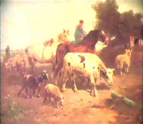 le retour du caton le retour du fermier avec son troupeau by henry schouten on artnet