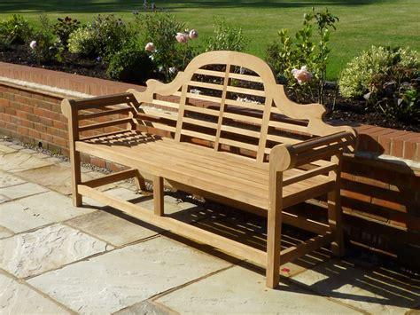 lutyen bench teak garden bench lutyens