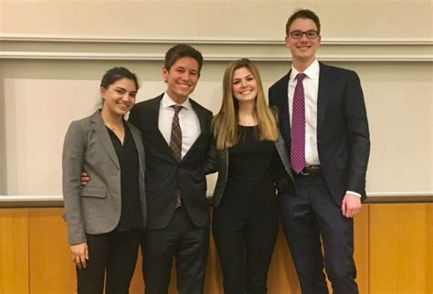 Mba Bsba Wustl by Undergrads Place 2nd In Wharton Competition Olin