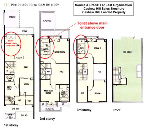 feng shui bedroom floor plan not so feng shui friendly housing singapore property