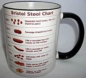 bristol stool chart ceramic mug co uk kitchen home