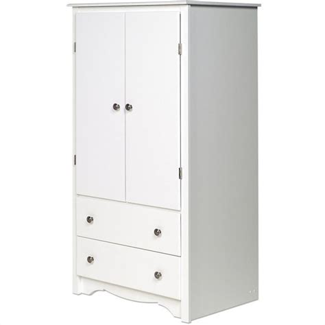 white wardrobe armoire prepac monterey white wardrobe tv armoire ebay