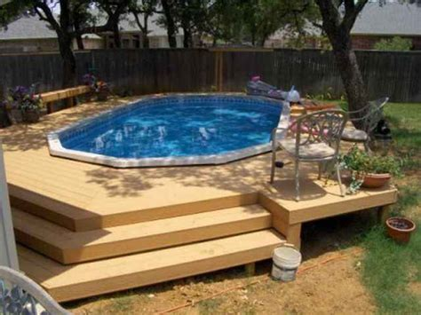 Classic Patios And Pools Reviews by 17 Best Ideas About Pool With Deck On Above