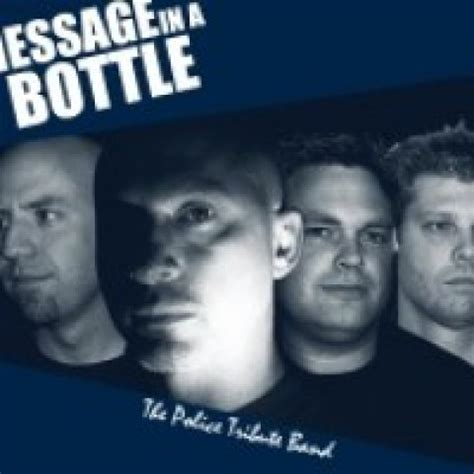 band in a bottle hire message in a bottle the tribute