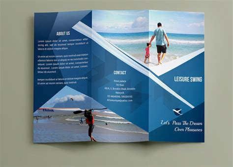templates for brochures pages 111 best free brochure templates images on pinterest