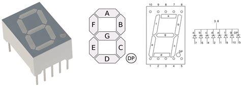 7 Segmen Seven Segment Led Display 1 Digit Common Cathode 056 arduino 7 segment led display and counter tutorial 8