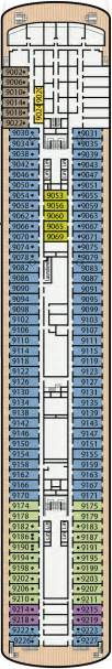 Deck Furniture Layout by P Amp O Pacific Eden Family Cruises Australia