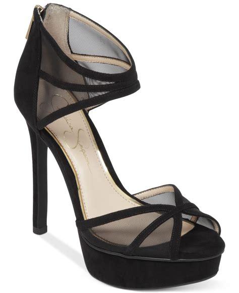 platform dress sandals ceyanna mesh platform dress sandals in