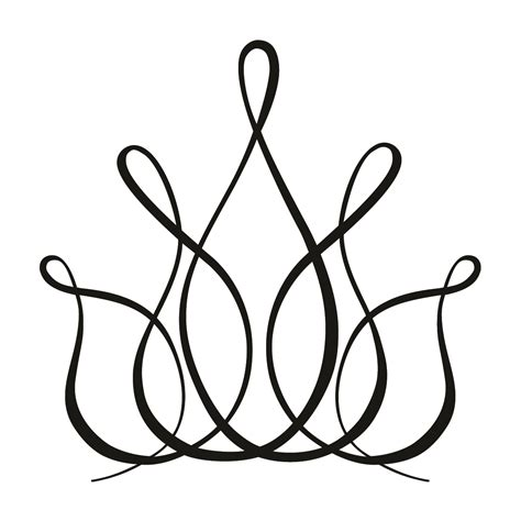 crown template black and white crown line drawing clipart best