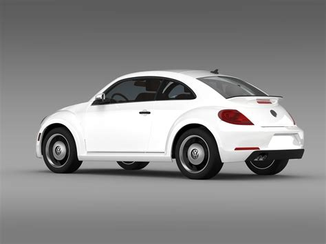 Kaos 3d Beetle Classic volkswagen beetle classic 2015 3d model max obj 3ds fbx