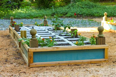 how to build a rot resistant raised planter bed pretty