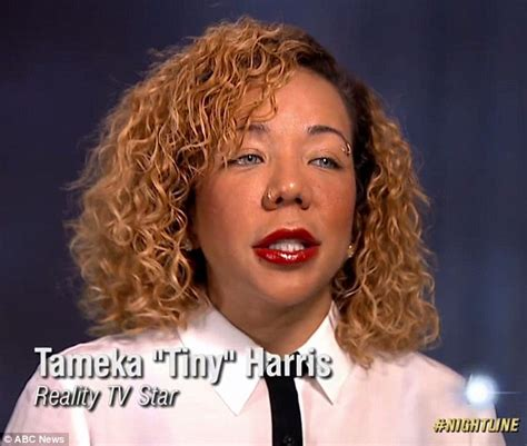 Haries Black Grey tameka tiny harris defends eye implants after going to