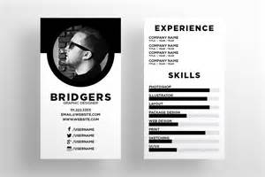 mini resume business card the resume business card template business card