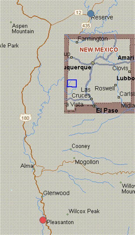 san francisco river map map for san francisco river new mexico white water san