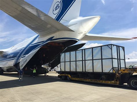 volga dnepr in the fast for nippon express urgent automotive machinery ǀ air cargo news