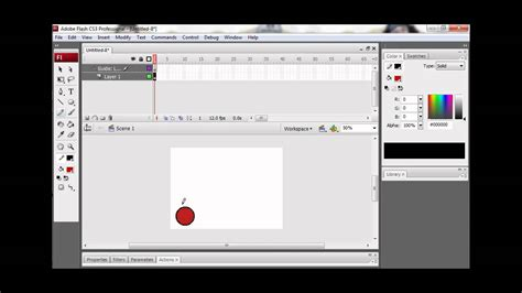 tutorial flash motion tutorial adobe flash cs3 animasi motion guide youtube