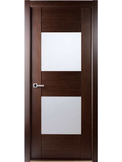 single door contemporary wenge interior single door with