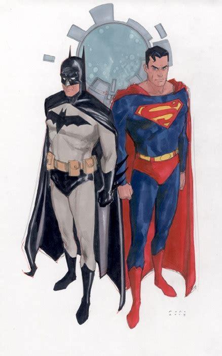 Tenda Terowongan Superman Batman 1 phil noto batman and superman phil noto