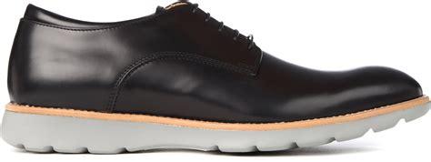 zegna shoes ermenegildo zegna z zegna derby shoes in black for lyst