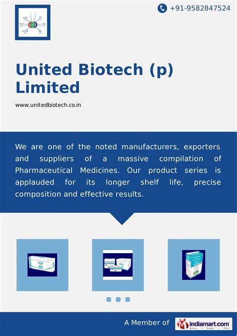 Biotech Mba Internship by United Biotech P Limited By United Biotech P Limited Issuu