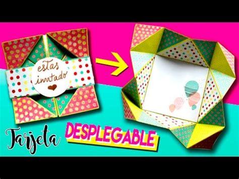 imagenes originales creativas tarjeta desplegable tarjetas creativas y originales
