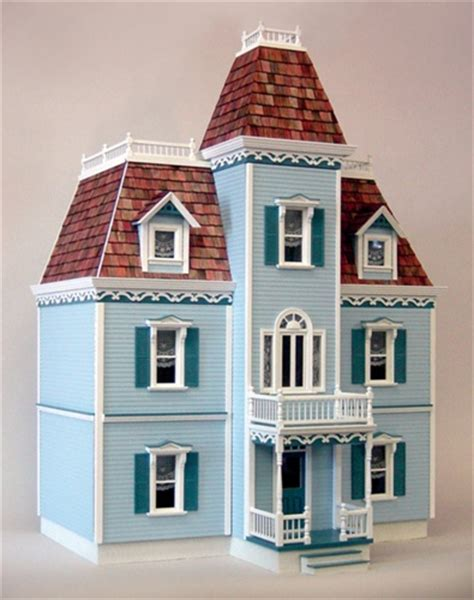 9 room dollhouse real toys front opening montgomery dollhouse kit