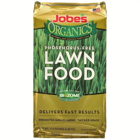 jobe s 15 lb 5 000 sq ft organic lawn fertilizer