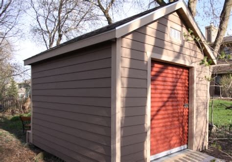 roll up doors for sheds 10x16 shed plans with garage