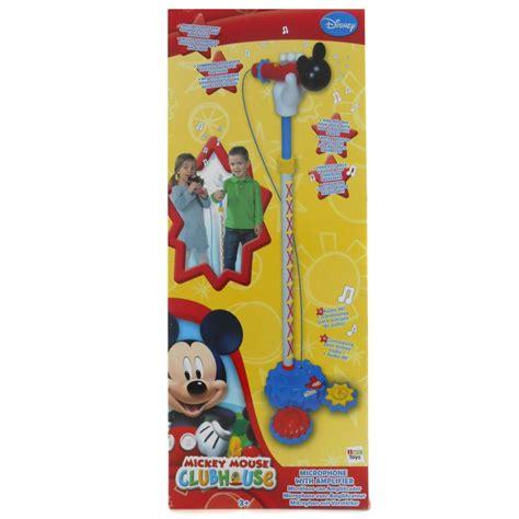 mickey mouse microphone with lifier happy toko mainan jual mainan anak