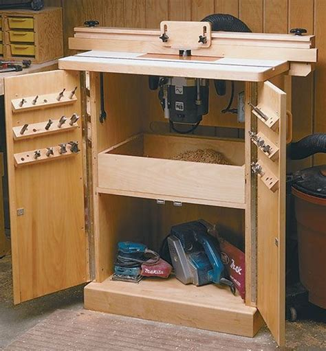 Build Your Own Router Table by Router Table Plan Build Your Own Router Table Projects