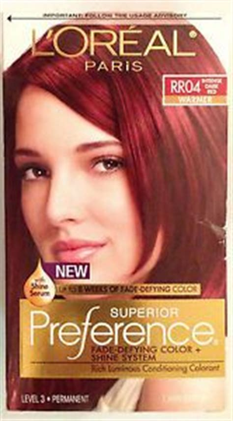 loreal permanent colour permanent colour feria preference pakcosmetics loreal superior preference hair dye color rr04 don t forget