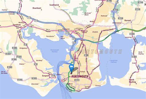 portsmouth usa map portsmouth map and portsmouth satellite image