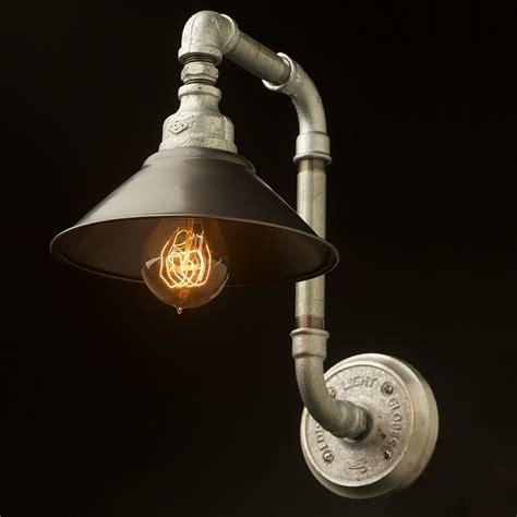 light fittings and shades plumbing pipe wall shade l