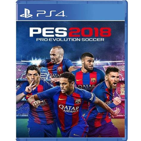 Kaset Ps4 Pro Evolution Soccer 2018 Standard Edition Pes 2018 ps4 pes pro evolution soccer 2018 hypermart