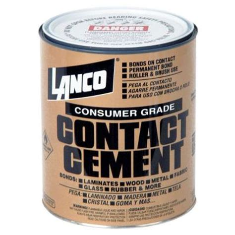 lanco 120 fl oz consumer grade contact cement ca372 4