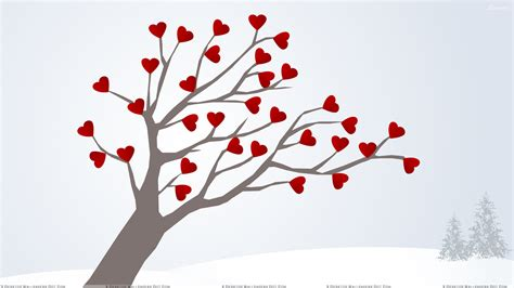 images of love tree tree of love wallpaper