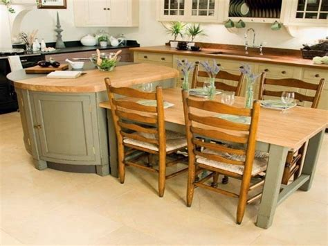 island tables for kitchen kitchen island with table attached tjihome