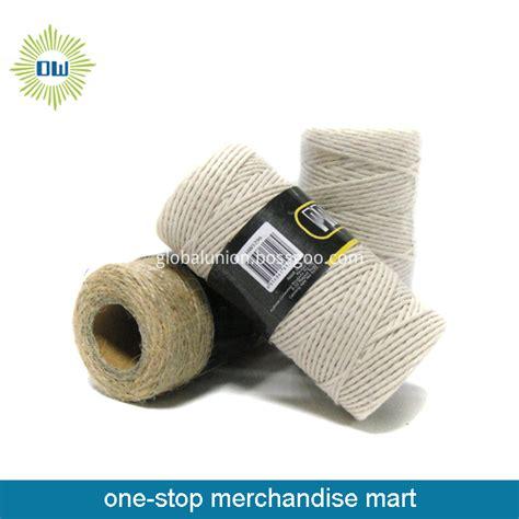 Tali Kayu Tali Rekat Tali Packing Diameter 05cm china dikitar semula tali berpintal kapas berkualiti tinggi dikitar semula tali berpintal kapas