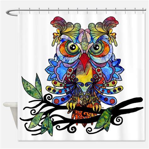 hoot owl curtains hoot owl shower curtains hoot owl fabric shower curtain