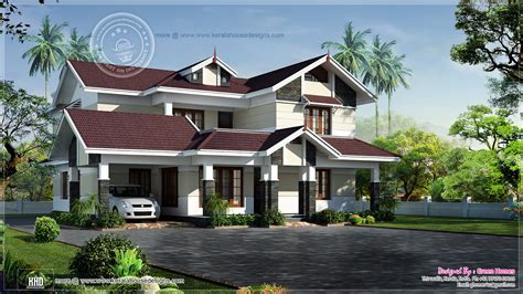 modern kerala house plan 2700 sq ft beautiful 2700 square feet villa kerala home design and