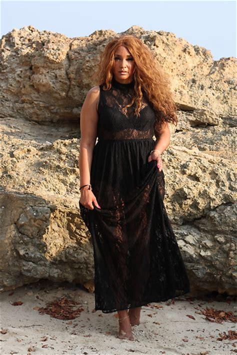 Maxi Dress Sazkia White the curvy chapter saskia forever 21 maxi dress lace