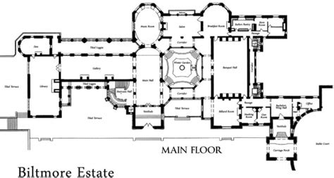biltmore estate floor plan biltmore house plans 45degreesdesign