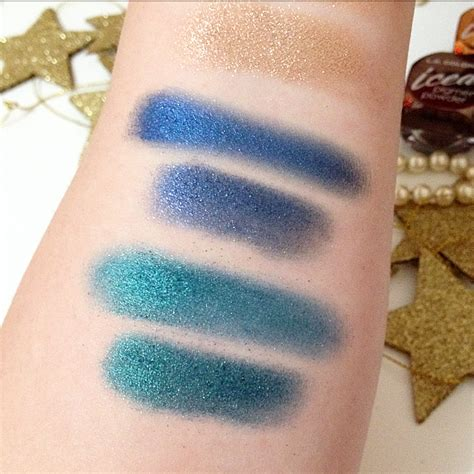 Foiled La Colors Iced Pigment Powder Limited my things diary by l a colors iced pigment powder swatches
