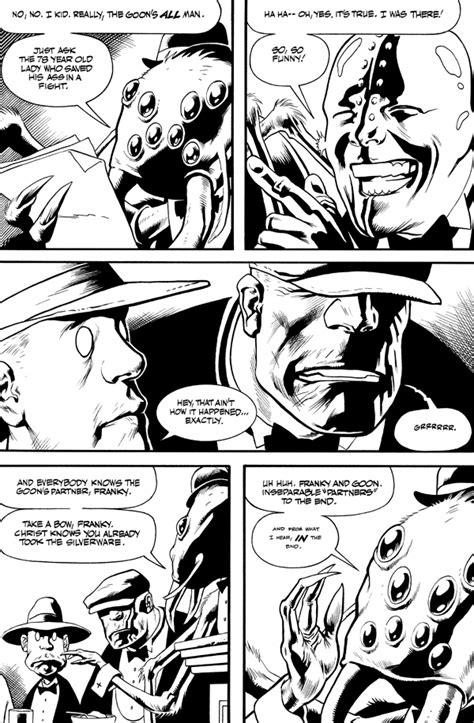 Dwight T. Albatross's The Goon Noir #2 :: Profile :: Dark