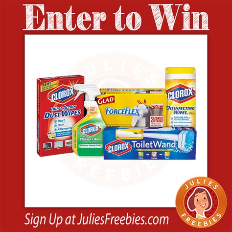 clorox spring cleaning sweepstakes julie s freebies - Clorox Sweepstakes