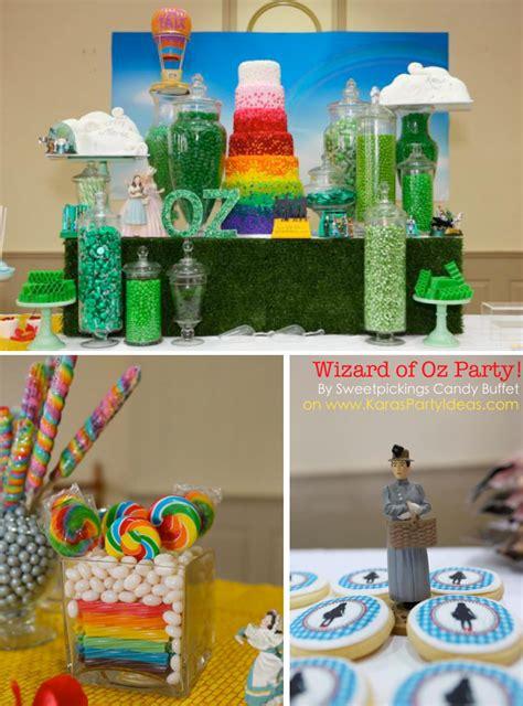 kara s ideas wizard of oz rainbow wedding decorations planning cake ideas