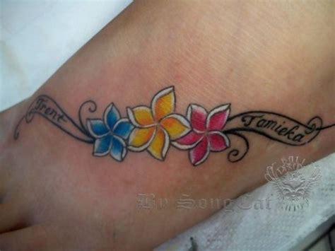 one piece foot tattoo tattoos on foot with names ladies foot piece flower and