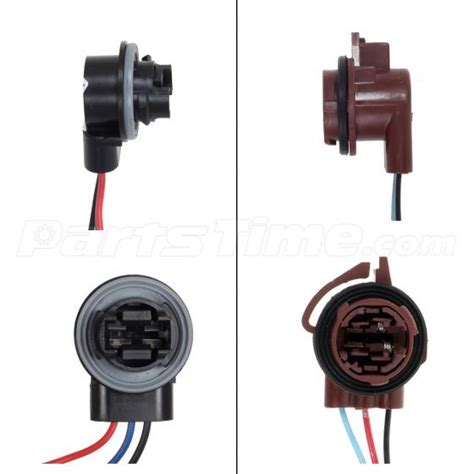 2x 3156 3157 Adapter Wiring Harness For Headlight Tail