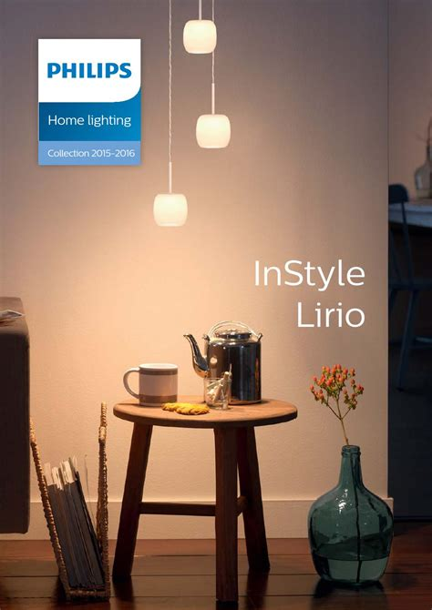 home lighting design philips philips instyle lirio en 2015 2016 by borut jerovsek issuu