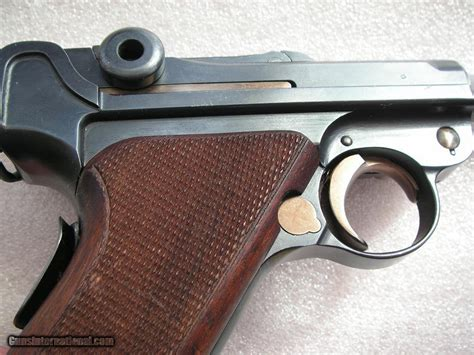 Swiss Army S 3294 luger 1906 swiss burn in 99 original beautiful condition